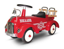 NEW RETRO CLASSIC RIDE ON CAR -METAL STEEL RIDE ON TOY VINTAGE FIRE ENGINE TRUCK