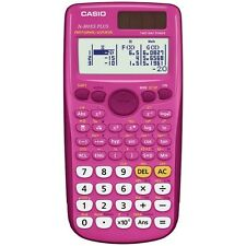 CASIO FX-300ES FX-300ESPLUS-PK Fraction & Scientific Calculator (Pink)