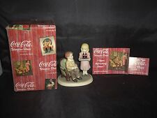 "1998 Coca Cola Figurine ""Share Refreshing Times"""