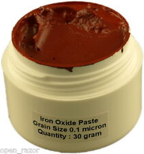 Iron Oxide Paste 0.10 micron,Straight Razor Leather Balsa Strop Sharpening Paste