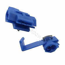 5x Electrical Terminals Quick Splice Lock Wire Connector Blue for size 18-14 AWG