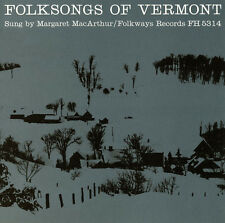 Margaret MacArthur - Folksongs of Vermont [New CD]