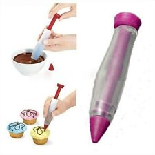 Diy Baking Cake Cookie Decorating Chocolate Plate Pen Bakeware Tools