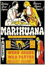 Película de droga marihuana marajuana orgías partidos de impresión