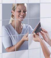 Funlife Reflektierenden Spiegel-Wand-Sticker Dekor Spiegel Fliesen Aufkleber