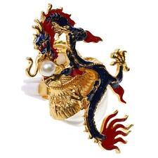 Dragon Design Vintage Crystal Perfume Bottle Spray Atomizer Refillable Gift