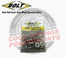 BOLT Hub-Savers Rear Wheel Sprocket Bolts Dirt Bikes CR/F KX, RM/Z, YZ, WR, DRZ