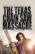 "The Texas Chainsaw Massacre movie poster (a) : 40th Anniversary : 11"" x 17"""