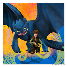 HOW TO TRAIN YOUR DRAGON Party NAPKINS CAKEBirthday Decoration Dinosaur Treats