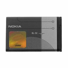 New 1020mAh BL-5C Battery for Nokia 7610 1200 6230i 2310 6600 1600 2600 E50 #344