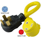 RV Electrical Adapter w/ high quality cable 50A male to 30A female 50amp 14315