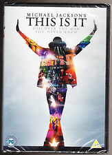 MICHAEL JACKSON - THIS IS IT - DISCOVER THE MAN NEVER KNEW - NEW & SEALED R2 DVD
