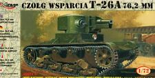 T 26 A WITH 76,2mm GUN - WW II SOVIET SUPPORT TANK 1/72 MIRAGE RARE!