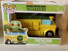 Funko POP! Rides TMNT Turtle Van w/Michelangelo 05 Vinyl Figure - Now Retired