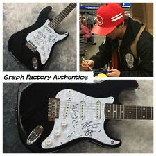 GFA Keaton Wesley & Drew * EMBLEM3 * Signed Electric Guitar PROOF E2 COA