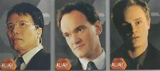 Alias Season 1 - Set of 3 Box-Loader Cards #BL1-3