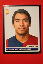 PANINI CHAMPIONS LEAGUE 2006/07 # 11 BARCELONA VAN BRONCKHORST  BLACK BACK MINT!