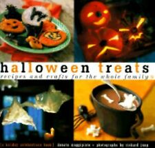 Halloween Treats : Recipes and Crafts for the Whole Family by Donata Maggipin...