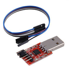 USB to TTL UART 6PIN Module Serial Converter CP2102 STC PRGMR Free cable JK