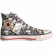 CONVERSE ALL STAR CHUCKS SCHUHE EU 41 7,5 SKULL LIMITED EDITION TOTENKOPF 1U564