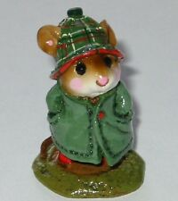 Wee Forest Folk Special Color Rare Plaid Hat Presence  April Showers