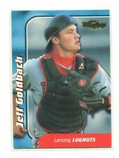 1999 Team Best Player of the Year Gold #24 Jeff Goldbach/50 Lansing Lugnuts