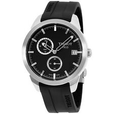 Tissot Men's T0694394706100 'T Sport' Black Dial Titanium GMT Watch