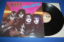 KISS - KILLERS CASABLANCA RECORS  MADE IN ITALY 1982