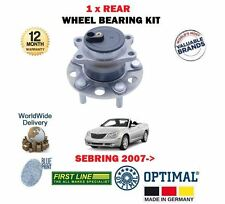 FOR CHRYSLER SEBRING 2.0DT 2.0 2.4 2.7 4/2006  NEW REAR WHEEL BEARING HUB KIT