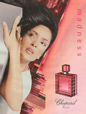 Publicité Advertising 2001  Parfum madness de Chopard