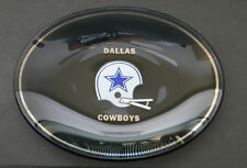 Dallas Cowboys Grey Smoked Glass Ash Tray / Candy Dish