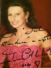 7x5 Hand Signed Photo of Opera Singer Lucia Aliberti