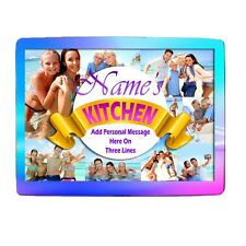 "Personalised Collage Photos, Kitchen, 8"" x 11"" Toughened Glass Chopping Board"