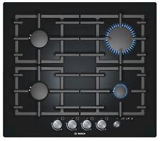 Bosch PPP616M91E Encimera de GAS negro Cristal duro COCINA Diseño Moderno