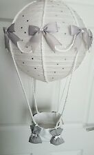 Hot air balloon light shade silver Dumbo , Peter rabbit looks stunning nursery