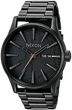 Star Wars Nixon Men's Sentry SS Analog Quartz Stainless Steel Vader Black Watch