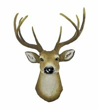 Deer Buck Head Bust 8 Point Wall Hanging Hunters