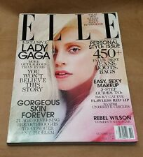 ELLE Magazine October 2013 Lady Gaga Rebel Wilson Newsstand Cover