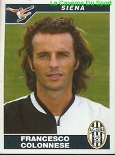 443 FRANCESCO COLONNESE ITALIA AC.SIENA STICKER CALCIATORI 2005 PANINI