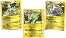 2 RARE MANECTRIC & ELECTRIKE -3 EVO DRAGONS EXALTED Pokemon Cards-REV HOLO MINT