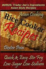 Rice Cooker Recipes - Asian Cooking - Quick & Easy Stir Fry - Low Sugar -...