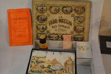 1870 FRENCH DIE CUP GAME VADE-MECUM DES ENFANTS RÈGLE DU JEU INSTRUCTIF
