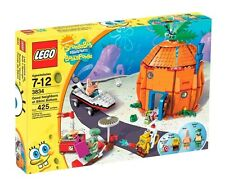 3834 GOOD NEIGHBOURS @ BIKINI BOTTOM lego spongebob squarepants NEW legos set