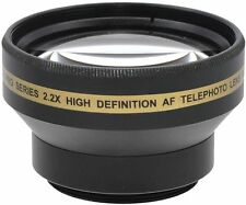 2.2x Hi Def Telephoto Lens for Sony HDR-CX360V HDR-XR155e HDR-CX155e