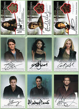 Vampire Diaries Season 2 Ultimate Master Set Autograph & Costume Cards w/ Binder