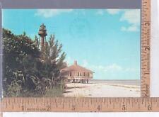 1970s USED POST CARD  LIGHT HOUSE POINT, SANIBEL ISLAND, FL