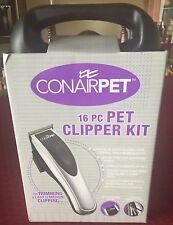 Conair Pet 16-Piece Pet Clipper Kit (Model CPG60) - BRAND NEW