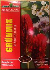 Gründüngung Grünmix 500 g  Biologischer Bodendoktor 0,5 kg