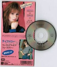"""TIFFANY Feelings Of Forever JAPAN 3"""" CD SINGLE 10SW-56 Unsnapped 1988 1,000JPY"""