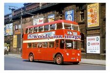 gw0545 - Manchester Trolleybus no 1343 in 1956 - photograph